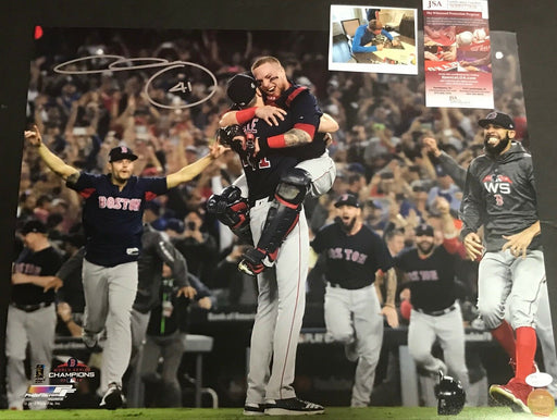 Chris Sale Red Sox 2018 World Series Signed 16x20 Photo JSA WITNESS COA D