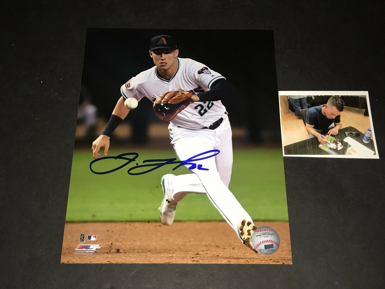 Jake Lamb Arizona Diamondbacks Autographed Signed 8x10 Photo