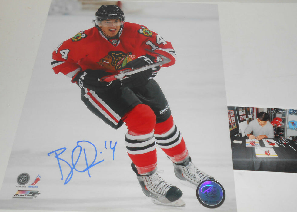 Brandon Pirri Chicago Blackhawks Signed 8x10 Vertical