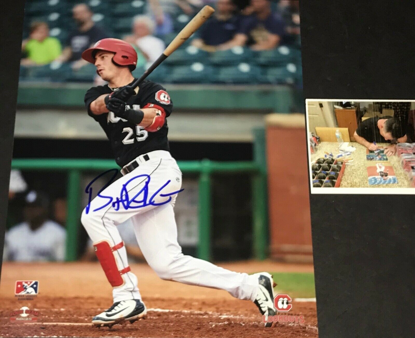 Brent Rooker Minnesota Twins Autographed Signed 8x10 Photo 1