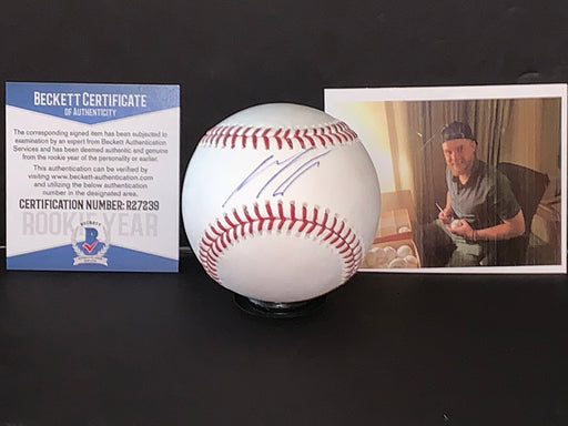 Seth Beer Arizona Diamondbacks Autographed Signed MLB Baseball Beckett Rookie COA
