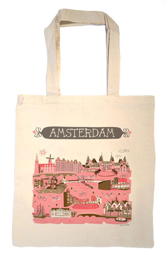 Amsterdam Tote Bag-Wedding Welcome Tote