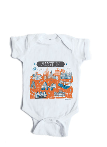 Onesies kid tees tammy smith design austin tx baby onesie personalized baby gift negle Image collections
