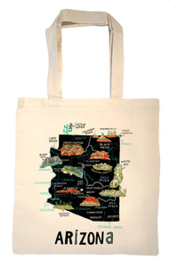 State of Arizona Tote Bag