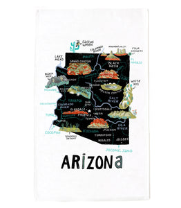 State of Arizona Tea Towel