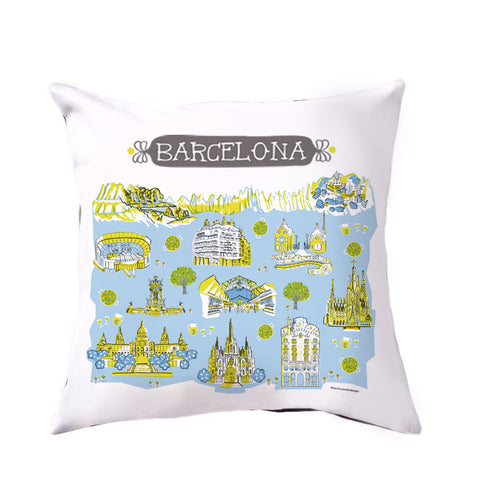 Barcelona Pillow Cover-16 x 16