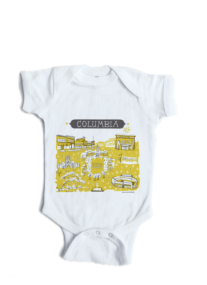 6911b05df Columbia MO Baby Onesie-Personalized Baby Gift – Tammy Smith Design
