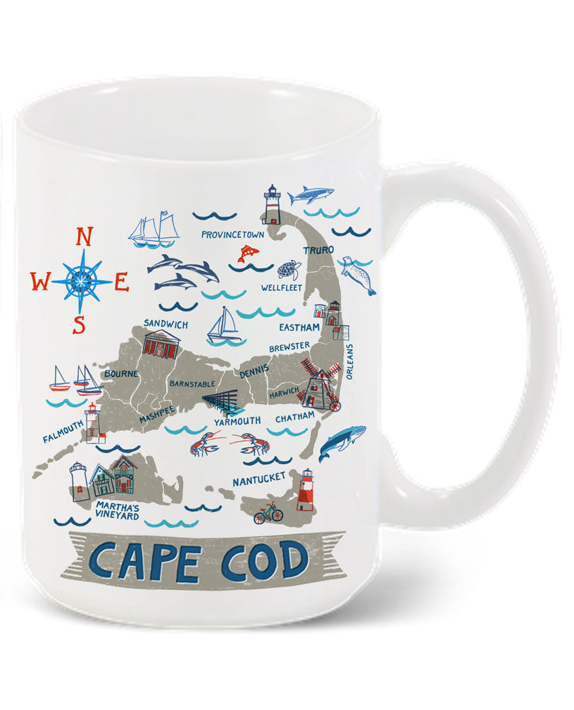 Cape Cod Mug-Custom City Mug