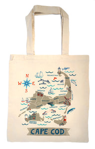 Cape Cod Tote Bag-Wedding Welcome Tote