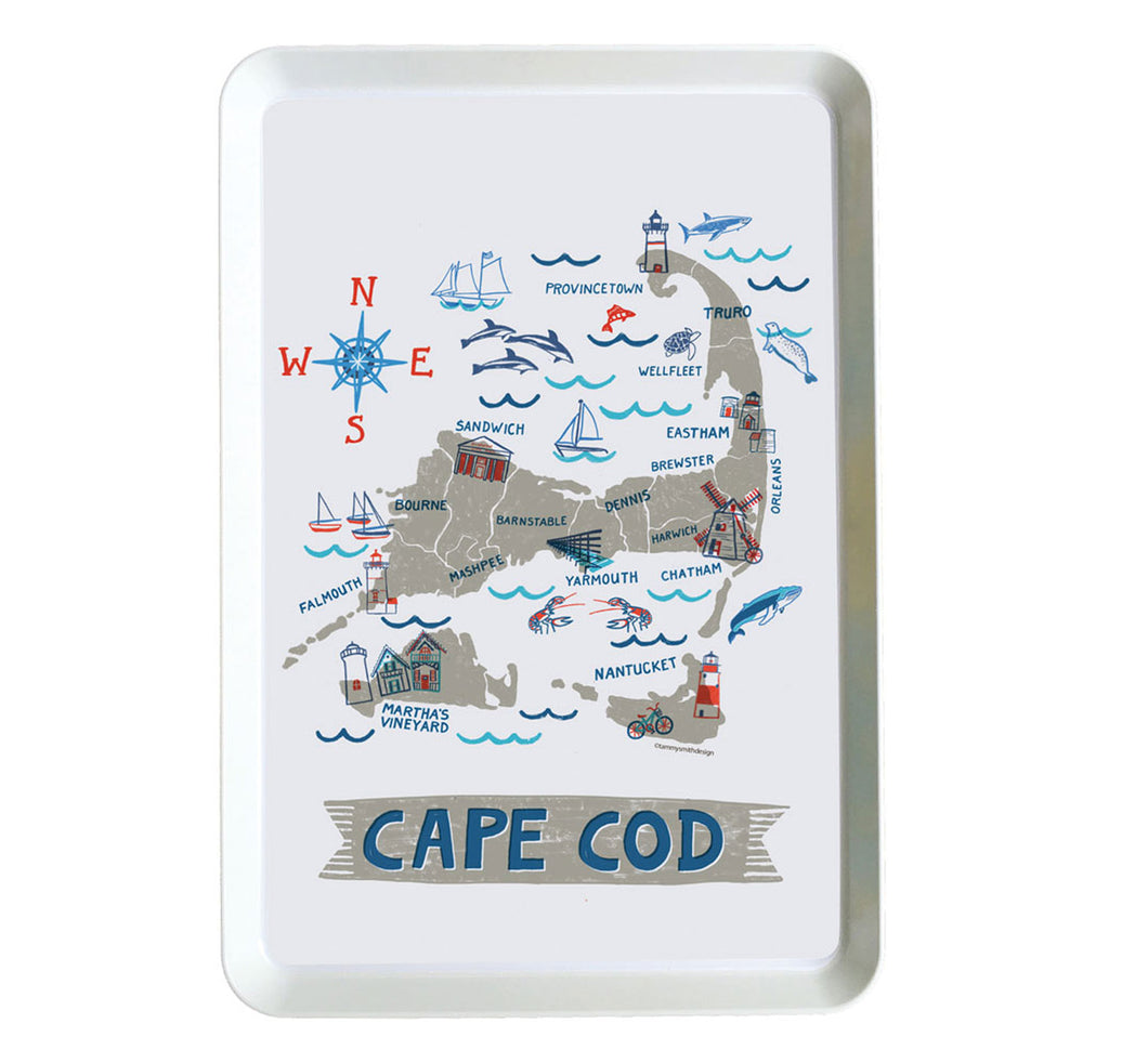 Cape Cod Tray-Custom City Tray