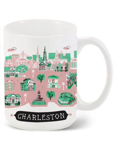 Charleston Mug-Custom City Mug