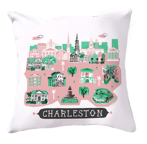 Charleston Pillow Cover-16 x 16