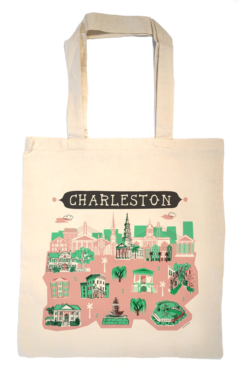Charleston Tote Bag-Wedding Welcome Tote