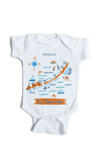 Florida Keys Baby Onesie-Personalized Baby Gift