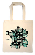France Tote Bag-Wedding Welcome Tote