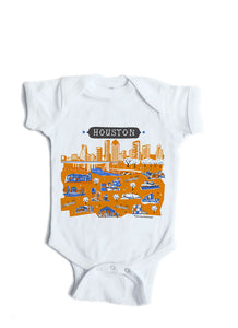 Houston TX Baby Onesie-Personalized Baby Gift