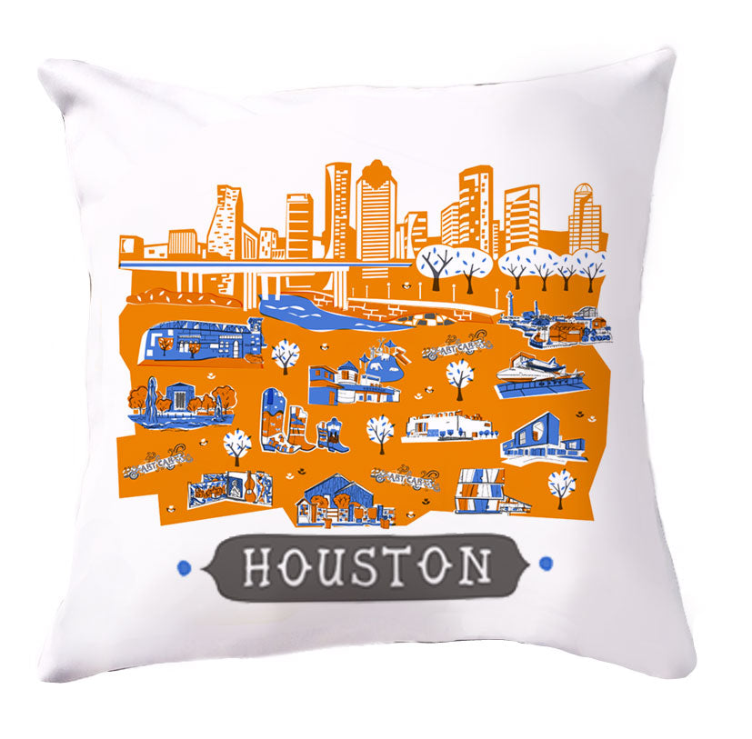 Houston Pillow Cover-16x16