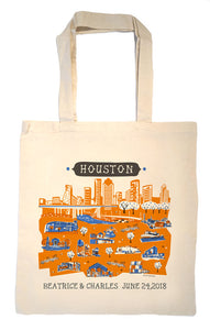 Houston Tote Bag-Wedding Welcome Tote