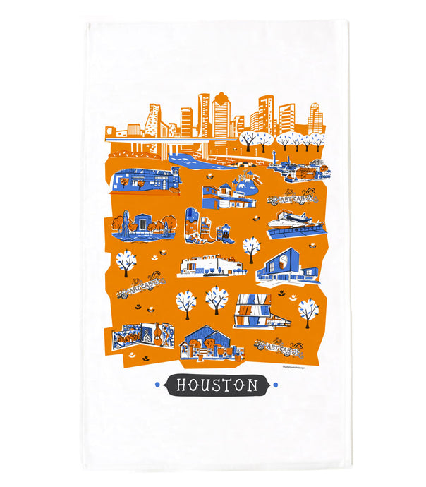 Houston Tea Towel