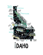 State of Idaho Wall Art