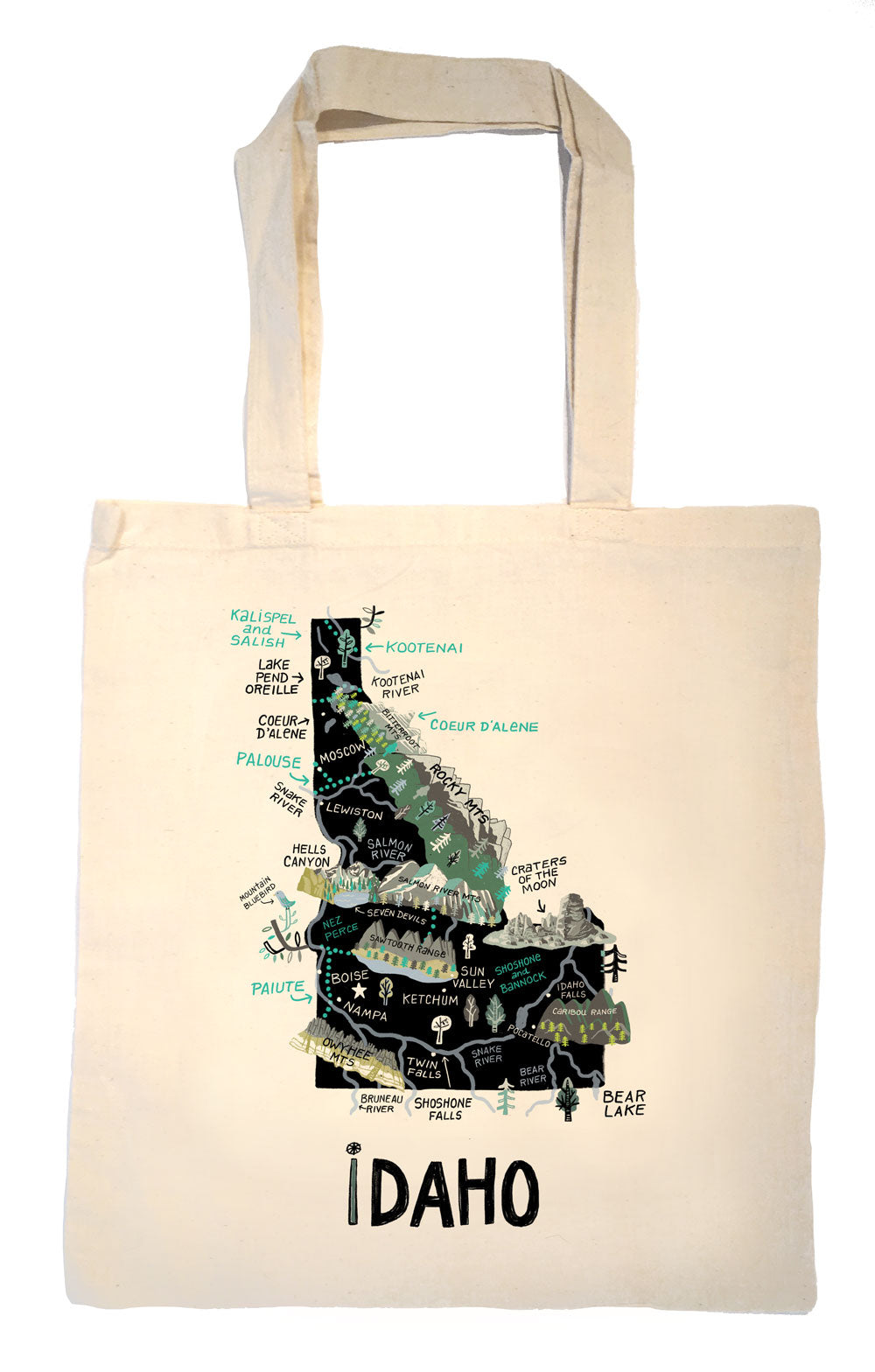 State of Idaho Tote Bag