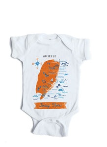 Jersey Shore Baby Onesie-Personalized Baby Gift