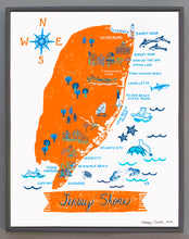 Jersey Shore Wall Art-Custom City Print