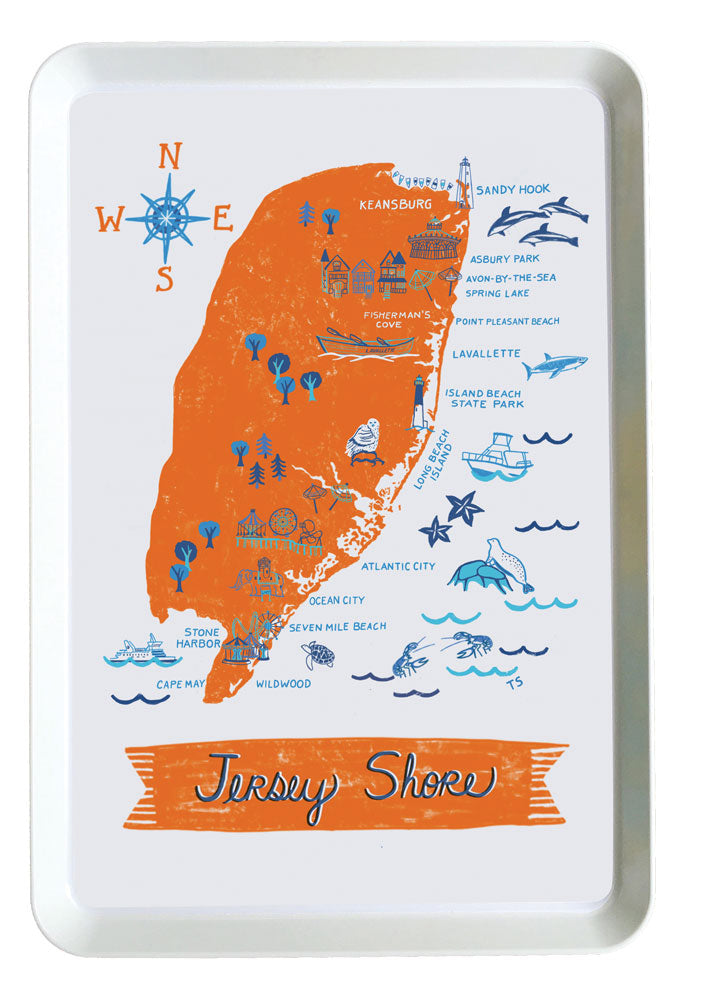 Jersey Shore Tray-Custom City Tray