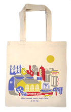 Kansas City skyline Tote Bag-Wedding Welcome Tote