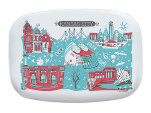 Kansas City Platter-Custom City Platter