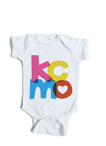 Kansas City MO Baby Onesie-Personalized Baby Gift