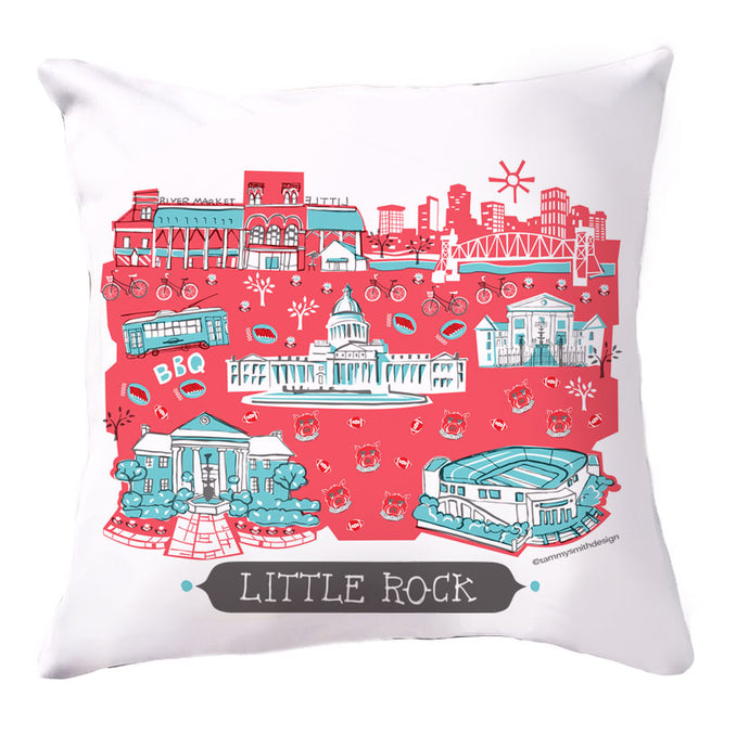 Little Rock Pillow Cover-16x16