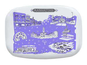 Manhattan KS Platter-Custom City Platter