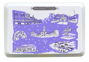Manhattan KS Tray-Custom City Tray