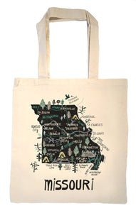 State of Missouri Tote Bag