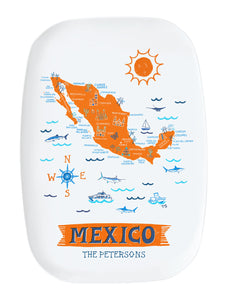 Mexico Platter-Custom City Platter