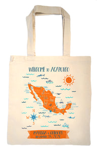 Mexico Tote Bag-Wedding Welcome Tote
