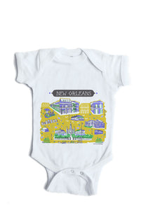 New Orleans Baby Onesie-Personalized Baby Gift