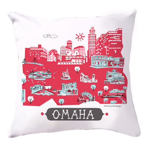 Omaha Pillow Cover-16x16