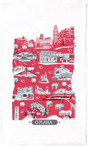 Omaha Tea Towel