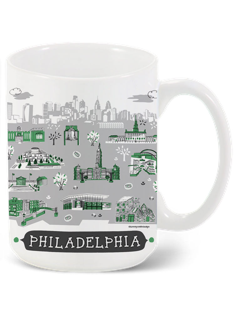 Philadelphia Mug-Custom City Mug