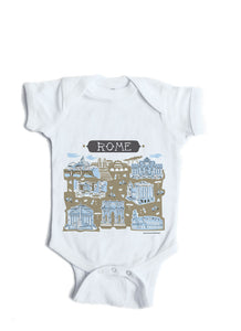 Rome baby onesie personalized baby gift tammy smith design rome baby onesie personalized baby gift negle Gallery