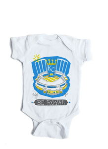 Kansas City Royals Baby Onesie-Personalized Baby Gift