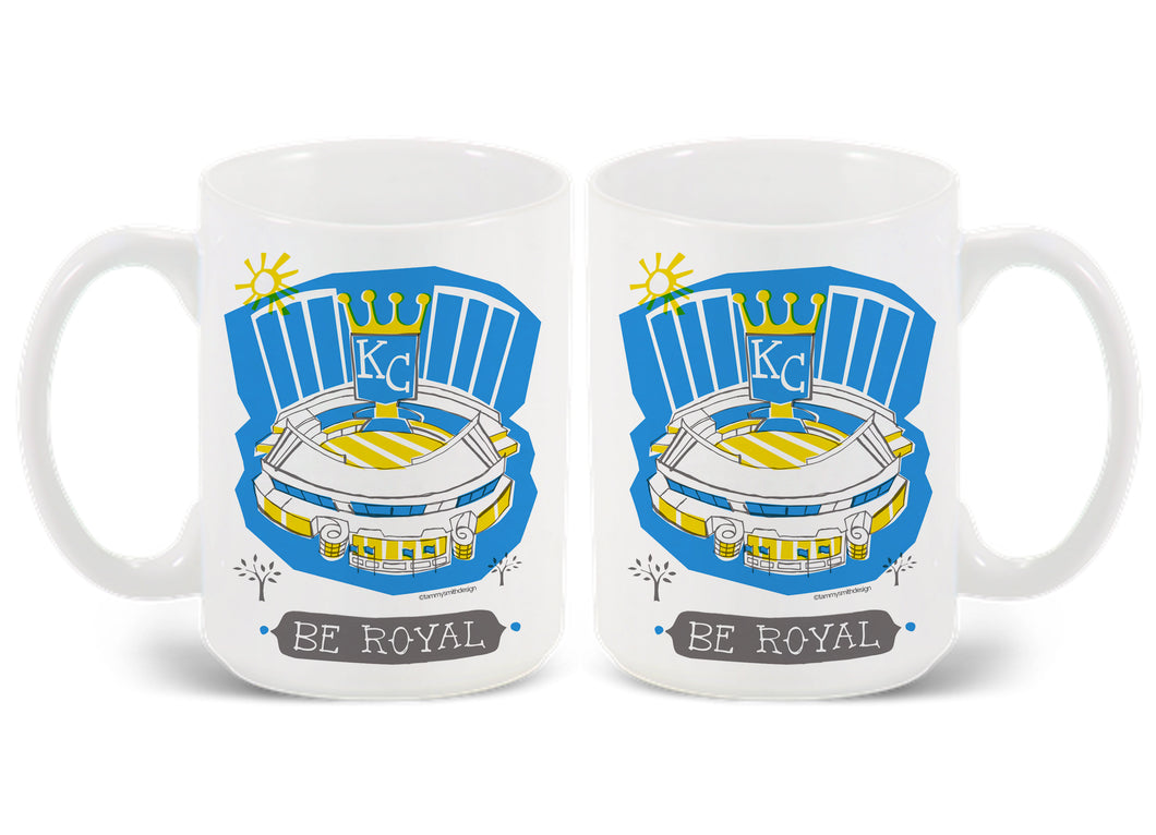 KC Royals Stadium Mug-Custom City Mug