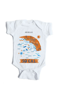 So Cal Baby Onesie-Personalized Baby Gift
