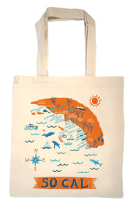 So Cal beaches Tote Bag-Wedding Welcome Tote