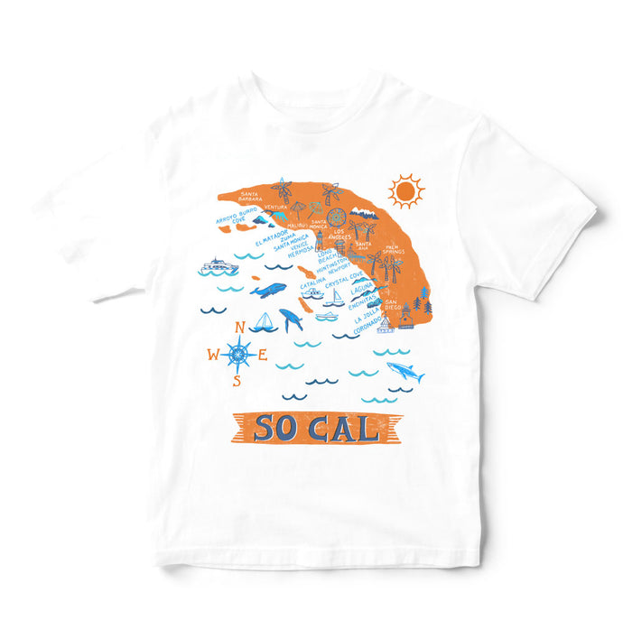 So Cal T Shirt-Eco Friendly Print DTG