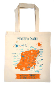 Yucatan Peninsula Tote Bag-Wedding Welcome Tote