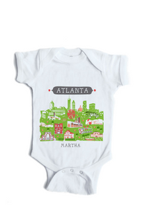 Los Angeles Baby Onesie-Personalized Baby Gift