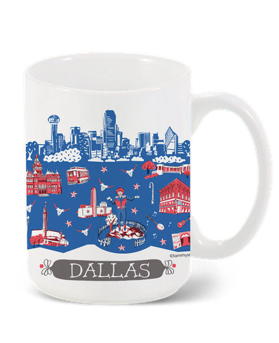 Dallas Mug-Custom City Mug